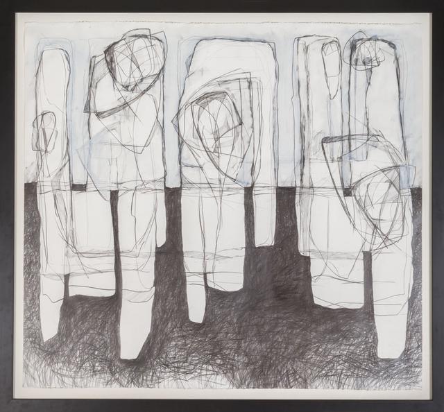 David Dew Bruner, 'Three Figures', 2018, Carrie Haddad Gallery