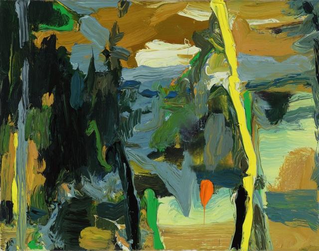 , 'Bending Yellow,' 2019, Tayloe Piggott Gallery