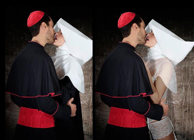 , 'Cardinal et nonne,' 2018, K + Y Gallery