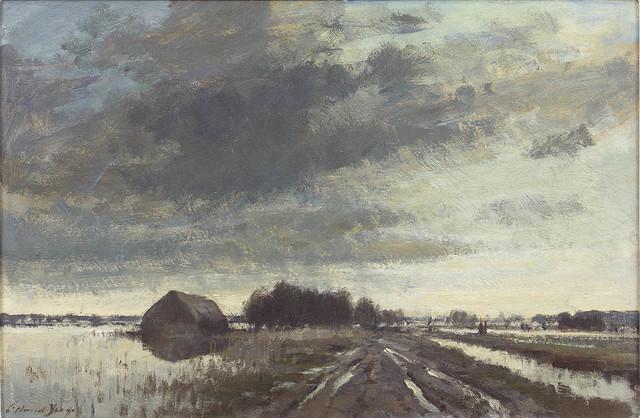, 'Floodwater, Norfolk ,' , Portland Gallery