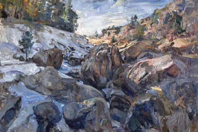 Mikael Olson, 'Castle Wood Canyon', 2021, Painting, Oil on Canvas, Gallery 1261
