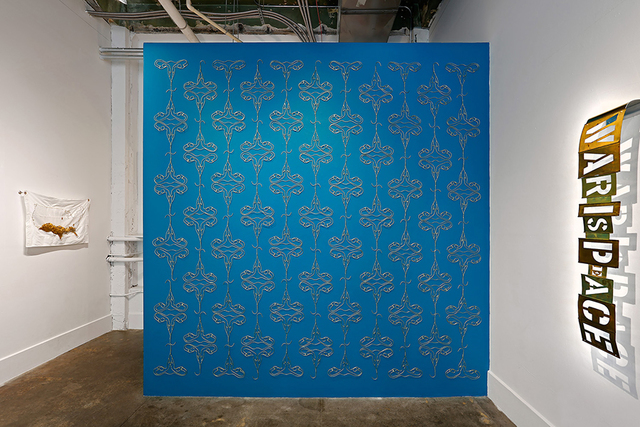 , 'Dangers Of Nostalgia In Wallpaper Form (in utero),' 2018, ZINC contemporary