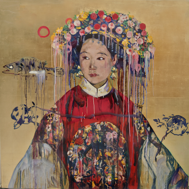 , 'Manchu Bride,' 2018, Nancy Hoffman Gallery