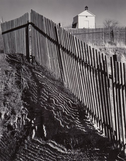 Ansel Adams, 'The White Church, Hornitos, California', 1946, Heritage Auctions