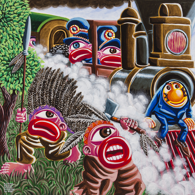 , 'Apparition Go West,' 2016, Galerie Christiane Vallé