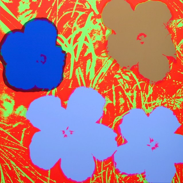 Andy Warhol, 'Flowers Brown Red - Sunday B. Morning (After)', ARTEDIO