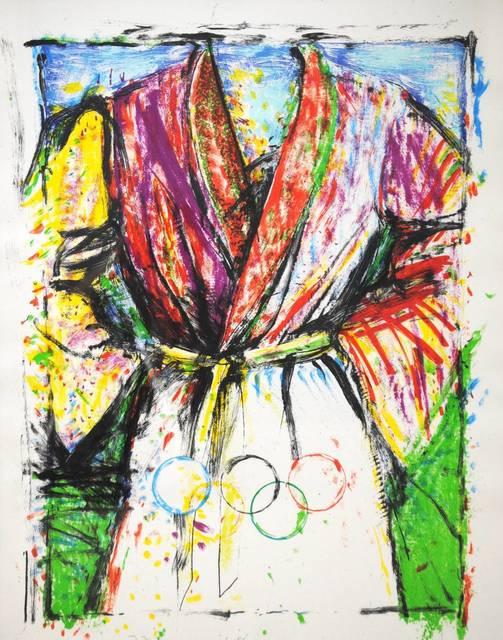 Jim Dine, 'Olympic Robe', 1988, Puccio Fine Art