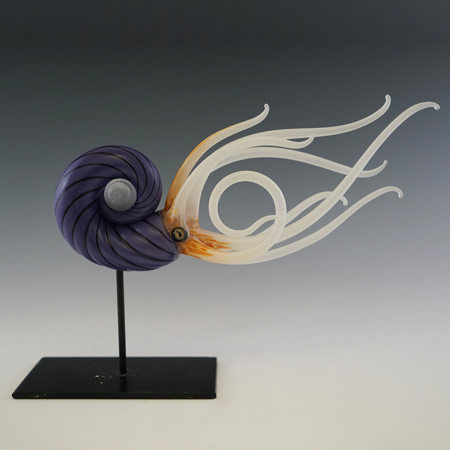 , 'Nautilus (Purple),' , Kuivato, a Creative Gateways Gallery