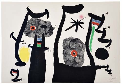 Joan Miró, 'Les Coquillages', 1969, F.L. Braswell Fine Art
