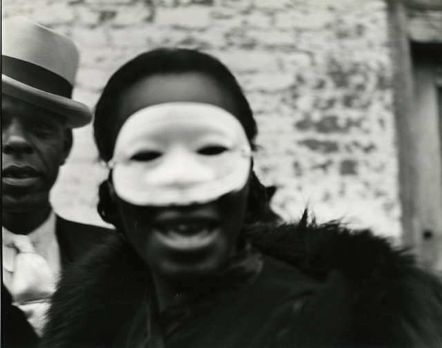 , 'In the Background The Pimp, New Orleans, 1937,' Printed Later, Be-hold