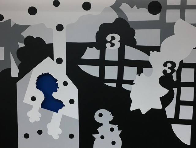 José de Guimarães, 'Serie Metropilos', Quadrado Azul