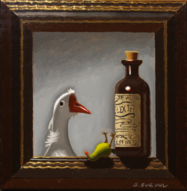 Shawn Sullivan, 'Miracle Cure', 2020, Painting, Oil on Panel, The Galleries at Salmagundi