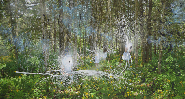 Annie Baillargeon, 'Les averses', 2017, Galerie D'Este