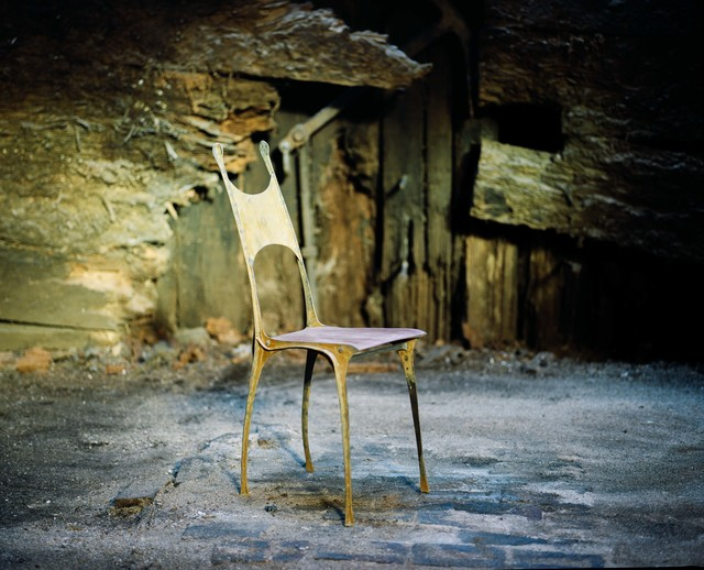 , 'Sculpted chair,' 2019, Antonine Catzéflis