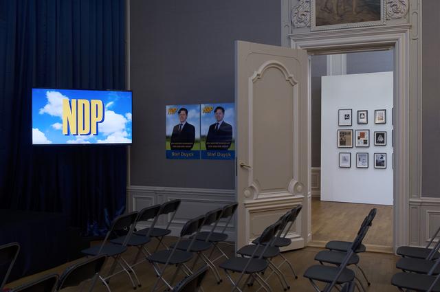 , 'Nieuwe Demokratische Partij (A New Democratic Party),' 2016, West Den Haag