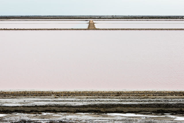 , 'Salines (brine lagoons) near Salon de Giraud, Camargue (Delta of the Rhone River), France,' 2012, Garvey | Simon