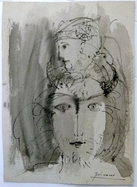 Pablo Picasso, 'Femme a 2 faces', ca. 1962, Tranter-Sinni Gallery