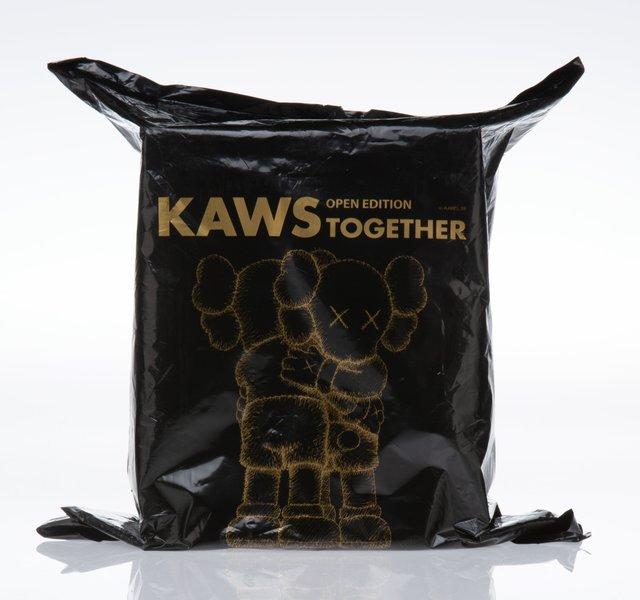 KAWS, 'Together (Black)', 2018, Sculpture, Painted cast vinyl, Heritage Auctions