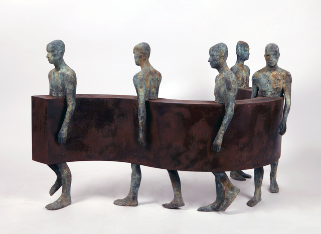 Jesús Curiá, 'Sin Fin IV', 2019, Gallery Victor Armendariz