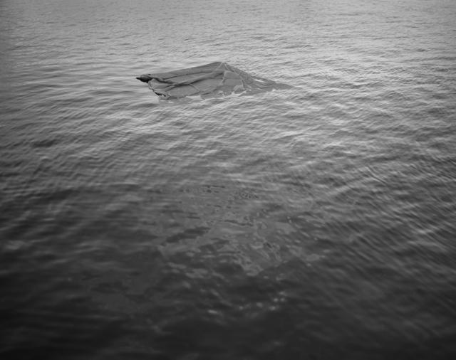 , 'Cloth, styrofoam, string and anchor,' 2012, Dedee Shattuck Gallery