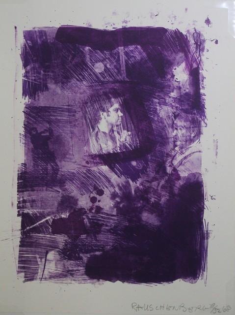 Robert Rauschenberg, 'Flower ReRun (reels B+C)', 1968, Print, Lithograph, Hal Katzen Gallery