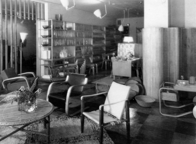 , 'Artek store on Fabianinkatu, Helsinki,' 1939, Bard Graduate Center Gallery