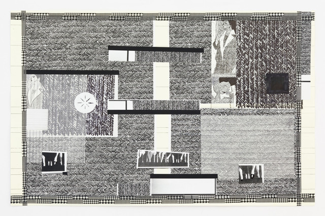 , 'Again Audience / Collage 3,' 2012, Galerie Andreas Huber