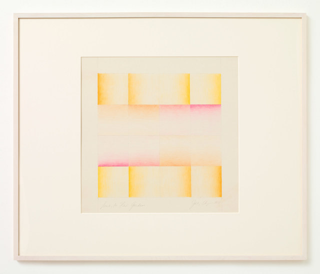 , 'Study for Flesh Gardens (Pink and Yellow),' 1971, Stephen Friedman Gallery