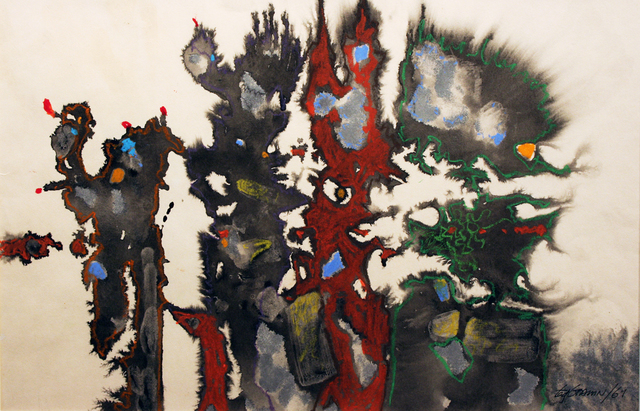 , 'Dragon Party Time,' 1961, Wallace Galleries