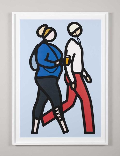 , 'New York Couple 8,' 2019, Cristea Roberts Gallery