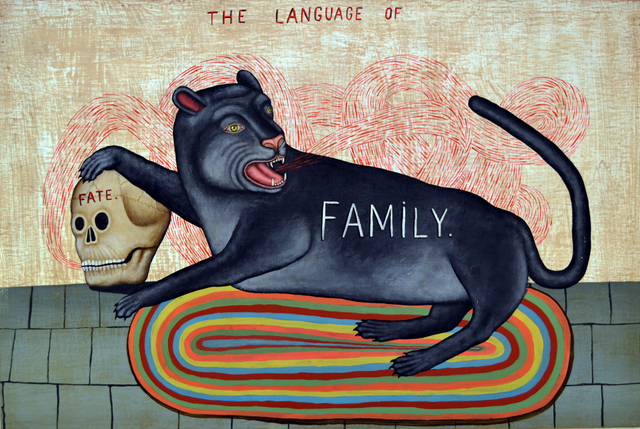 , 'Language of Family,' 2018, George Billis Gallery