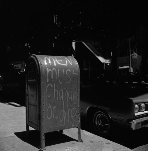 , 'Men Must Change,' 1971, KP Projects