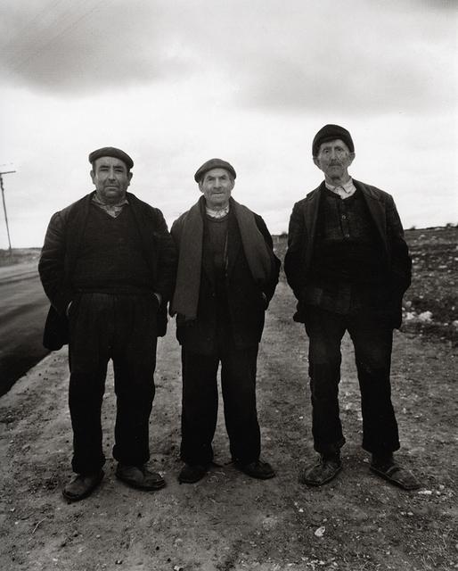Evelyn Hofer, 'On the road (three men)', ROSEGALLERY