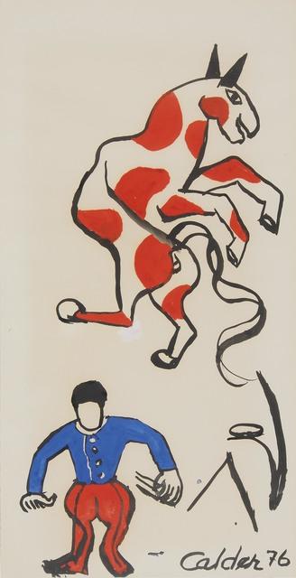 , 'The horse,' ca. 1976, Mayoral Galeria d'Art