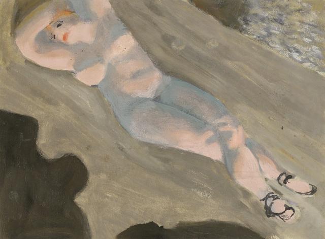 , 'The Sleep in the Sun,' ca. 1925, Galerie Bei Der Albertina Zetter