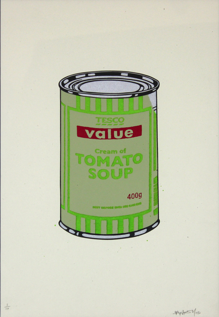 Banksy, 'Soup Can (Green and Red)', 2005, Gormleys Fine Art