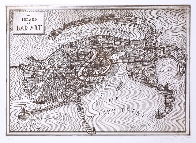 Grayson Perry, 'Island of Bad Art,' 2013, Gerrish Fine Art