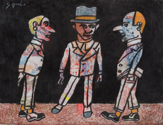 , 'Reunión,' 2017, Nil Gallery