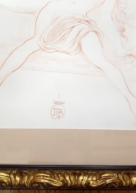 Salvador Dalí, 'Nu Au Sopha', 1970, Print, Lithograph, Graves International Art