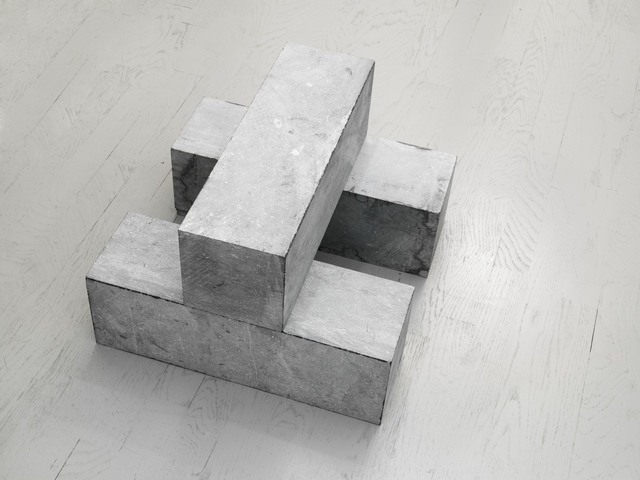 , '1 Block on 2 Blocks,' 2001, Alfonso Artiaco