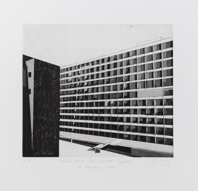 , 'Room 1008, John Vorster Square, 15 February 1977,' 2014, David Krut Workshop