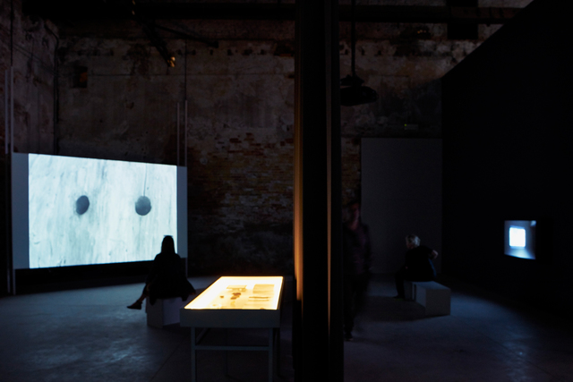 , 'Excavation of the image - imprint, shadow, spectre, thought (Installation view),' 2015, 56th Venice Biennale