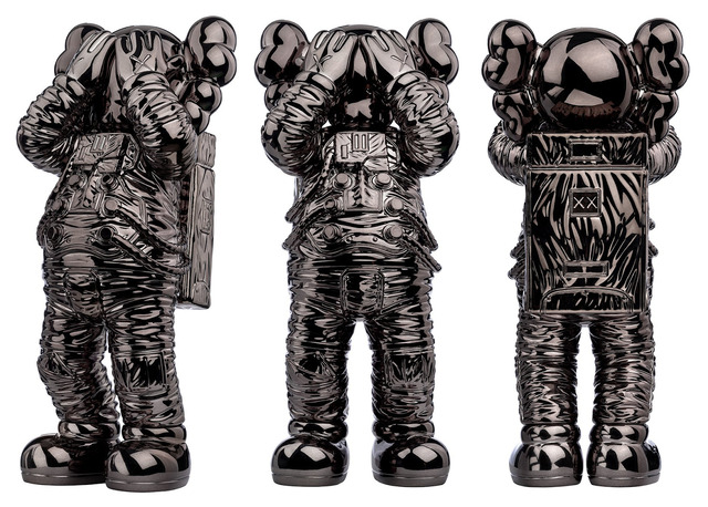 KAWS, 'Holiday Space (Black)', 2020, Sculpture, Polyurethane Figure, Side X Side Gallery