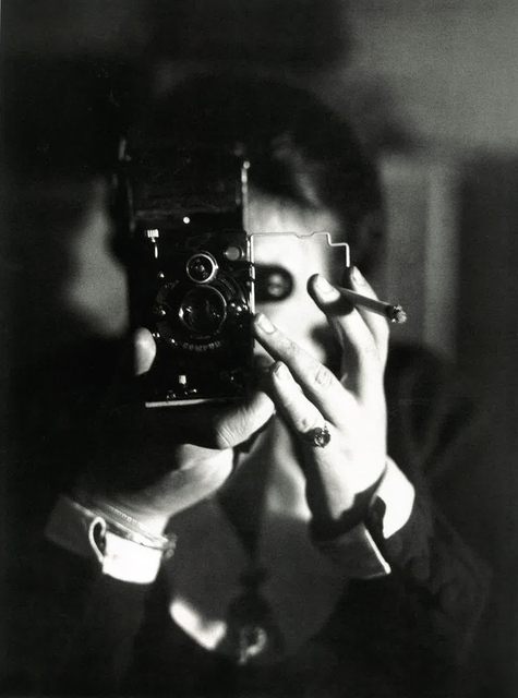 Germaine Krull, 'Autoportrait à l'Icarette (Self-portrait with Icarette)', ca. 1925, Jeu de Paume