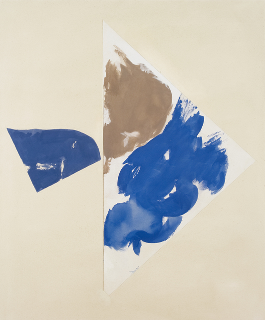 , 'Dim blue with grey blue,' 2006, GALERIE BERNARD BOUCHE