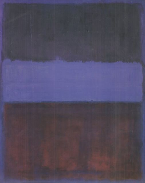 Mark Rothko, 'No. 61 (Brown, Blue, Brown on Blue)', (Date unknown), ArtWise