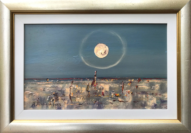 Robert Fisher, 'Outback Moon William Creek', Wentworth Galleries