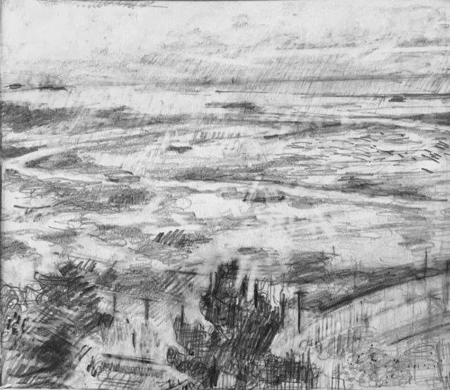 William Boyd Woods, 'Small Lanscape', 2018, Robert Kananaj Gallery