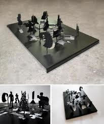Peter Coffin, 'Untitled (Sculpture Silhouette Model)', 2010, Air Mattress Gallery