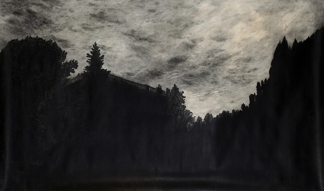 , 'At twilight,' 2012, Nadja Vilenne